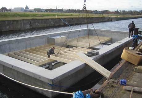 Concrete hull HUBB®