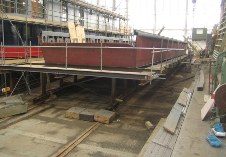 UK steel hull by Dirkmarine