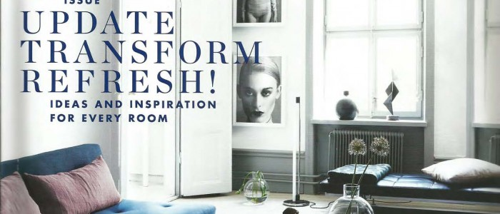 House on Water Ltd. featured in ELLE DECORATION UK